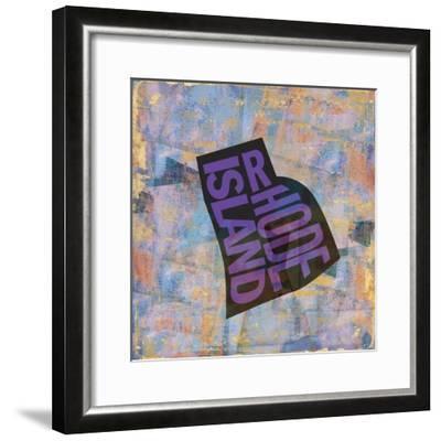 Rhode Island-Art Licensing Studio-Framed Giclee Print