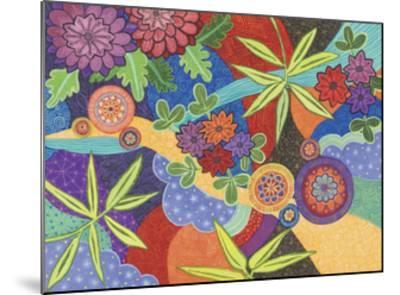 Kimono 2-Catherine Breer-Mounted Giclee Print