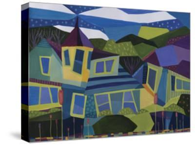 Peaks Island Castle-Catherine Breer-Stretched Canvas Print