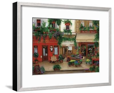 Le Bistro Rouge-Betty Lou-Framed Giclee Print