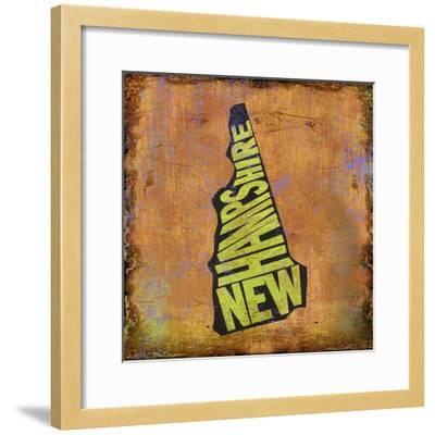 New Hampshire-Art Licensing Studio-Framed Giclee Print