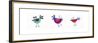 Birds-Beverly Johnston-Framed Giclee Print