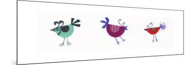 Birds-Beverly Johnston-Mounted Giclee Print