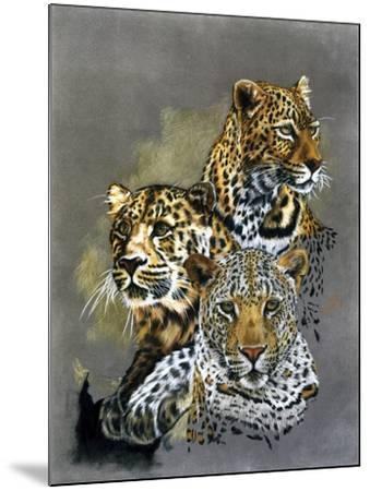 Shadow Hunter-Barbara Keith-Mounted Giclee Print