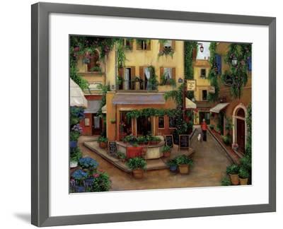 Parisian Cafés-Betty Lou-Framed Giclee Print
