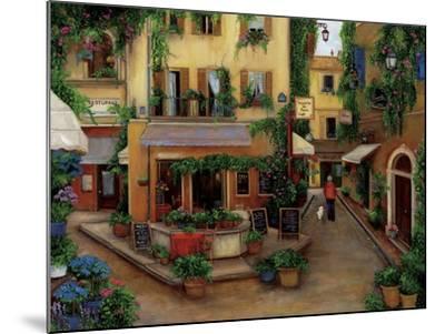 Parisian Cafés-Betty Lou-Mounted Giclee Print