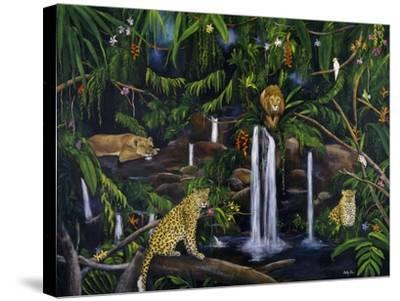 Jungle-Betty Lou-Stretched Canvas Print