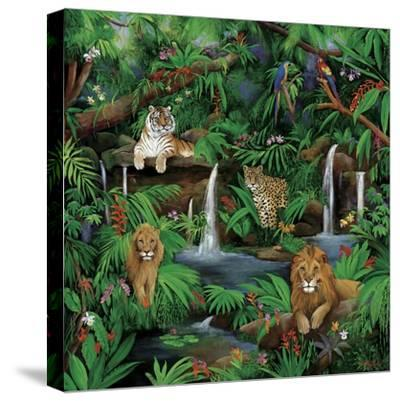 Paradise Jungle-Betty Lou-Stretched Canvas Print