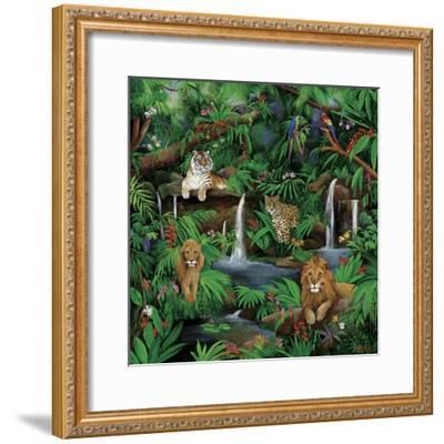 Paradise Jungle-Betty Lou-Framed Giclee Print