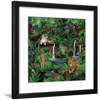 Paradise Jungle-Betty Lou-Framed Giclee Print