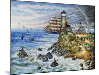 Morning Light-Bill Bell-Mounted Giclee Print