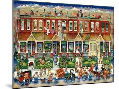 Row Houses-Bill Bell-Mounted Giclee Print