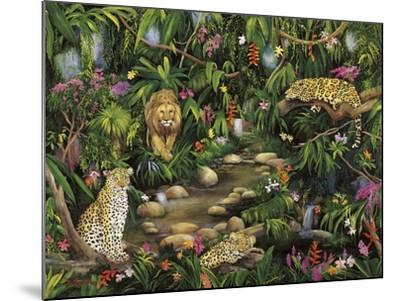 Exotic Jungle-Betty Lou-Mounted Giclee Print
