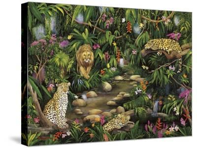 Exotic Jungle-Betty Lou-Stretched Canvas Print