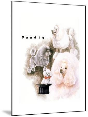 Poodle 2-Barbara Keith-Mounted Giclee Print