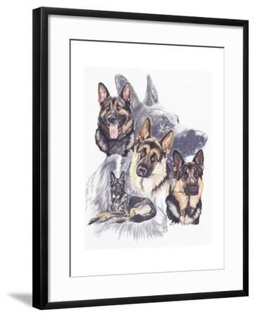 German Shepard-Barbara Keith-Framed Giclee Print