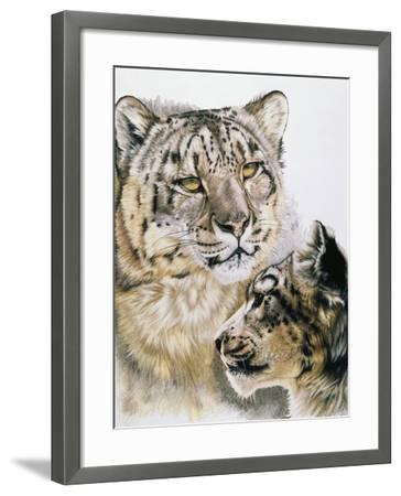 Panthera Uncia-Barbara Keith-Framed Giclee Print