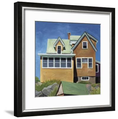 Susan's House Monhegan-Catherine Breer-Framed Giclee Print