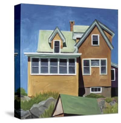 Susan's House Monhegan-Catherine Breer-Stretched Canvas Print