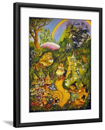 Oz-Bill Bell-Framed Giclee Print