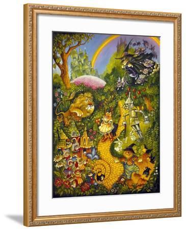 Oz-Bill Bell-Framed Giclee Print