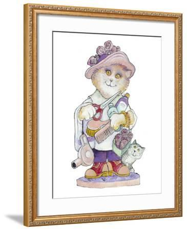 Clipper Cat-Bill Bell-Framed Giclee Print