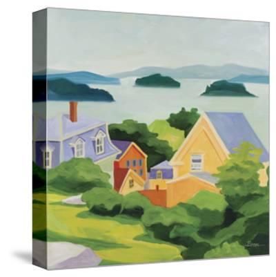 Stonington-Catherine Breer-Stretched Canvas Print