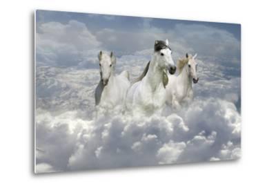 Fantasy Horses 41-Bob Langrish-Metal Print