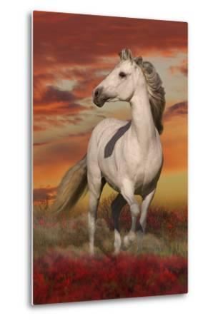 Fantasy Horses 38-Bob Langrish-Metal Print