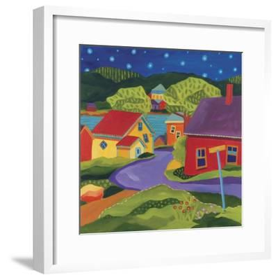 Church Street-Catherine Breer-Framed Giclee Print