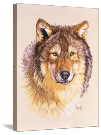 Lobo-Barbara Keith-Stretched Canvas Print