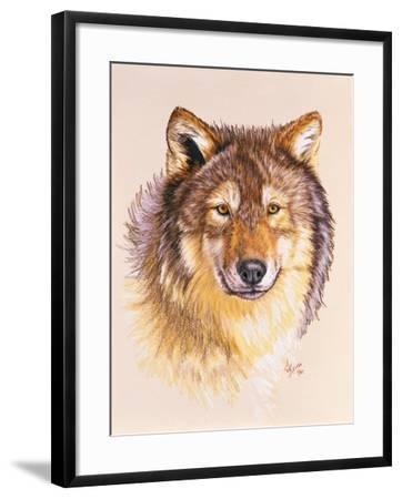 Lobo-Barbara Keith-Framed Giclee Print