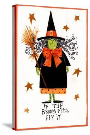 Witch 2-Beverly Johnston-Stretched Canvas Print