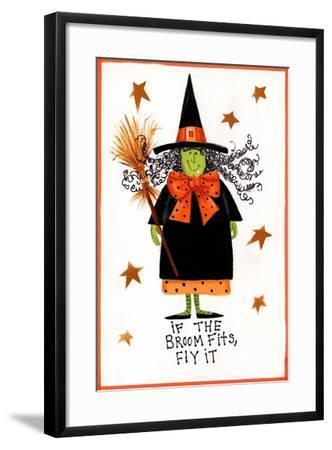 Witch 2-Beverly Johnston-Framed Giclee Print