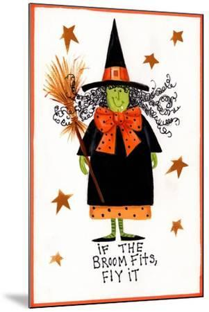 Witch 2-Beverly Johnston-Mounted Giclee Print