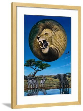 Long live the King-Apollo-Framed Giclee Print