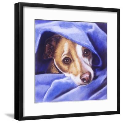 Cold? Me?-Barbara Keith-Framed Giclee Print