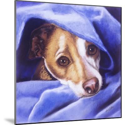 Cold? Me?-Barbara Keith-Mounted Giclee Print