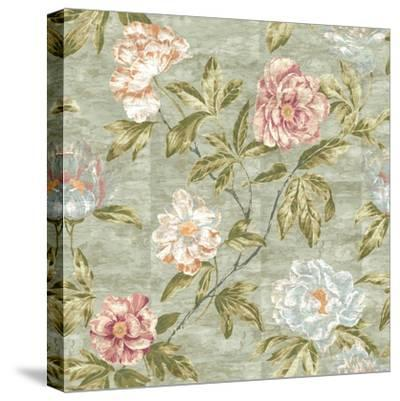 Tree Peony Mother of Pearl-Bill Jackson-Stretched Canvas Print
