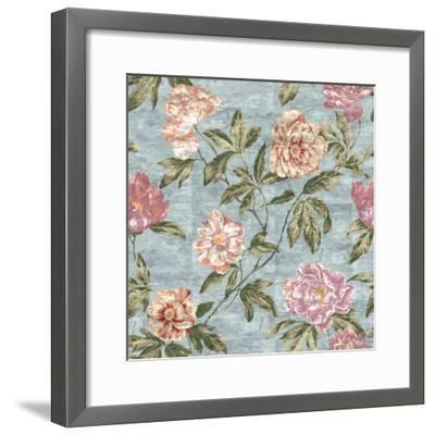 Tree Peony Powder Blue-Bill Jackson-Framed Giclee Print