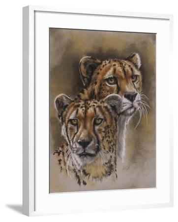 Twins-Barbara Keith-Framed Giclee Print