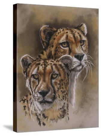 Twins-Barbara Keith-Stretched Canvas Print