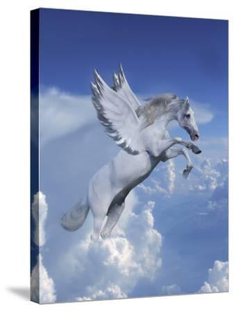 Fantasy Horses 20-Bob Langrish-Stretched Canvas Print