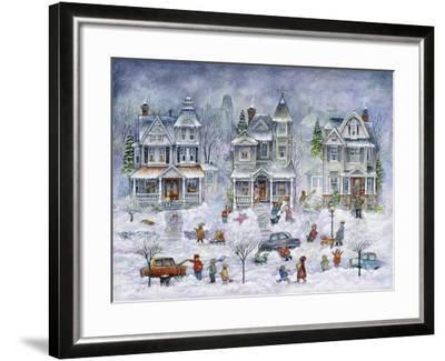 Snowy Streets-Bill Bell-Framed Giclee Print