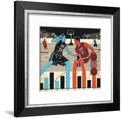 Markets-Bill Butcher-Framed Giclee Print