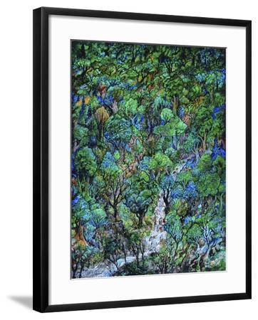 Waterfall-Bill Bell-Framed Giclee Print