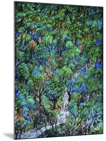 Waterfall-Bill Bell-Mounted Giclee Print