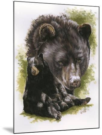 Ebony-Barbara Keith-Mounted Giclee Print