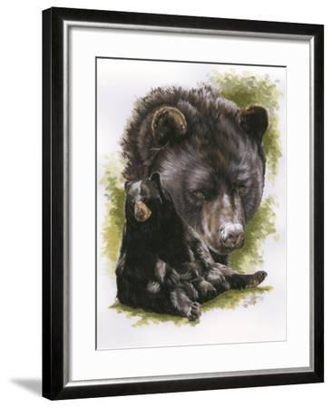 Ebony-Barbara Keith-Framed Giclee Print