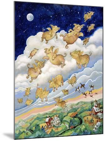 If Pigs Could Fly-Bill Bell-Mounted Giclee Print